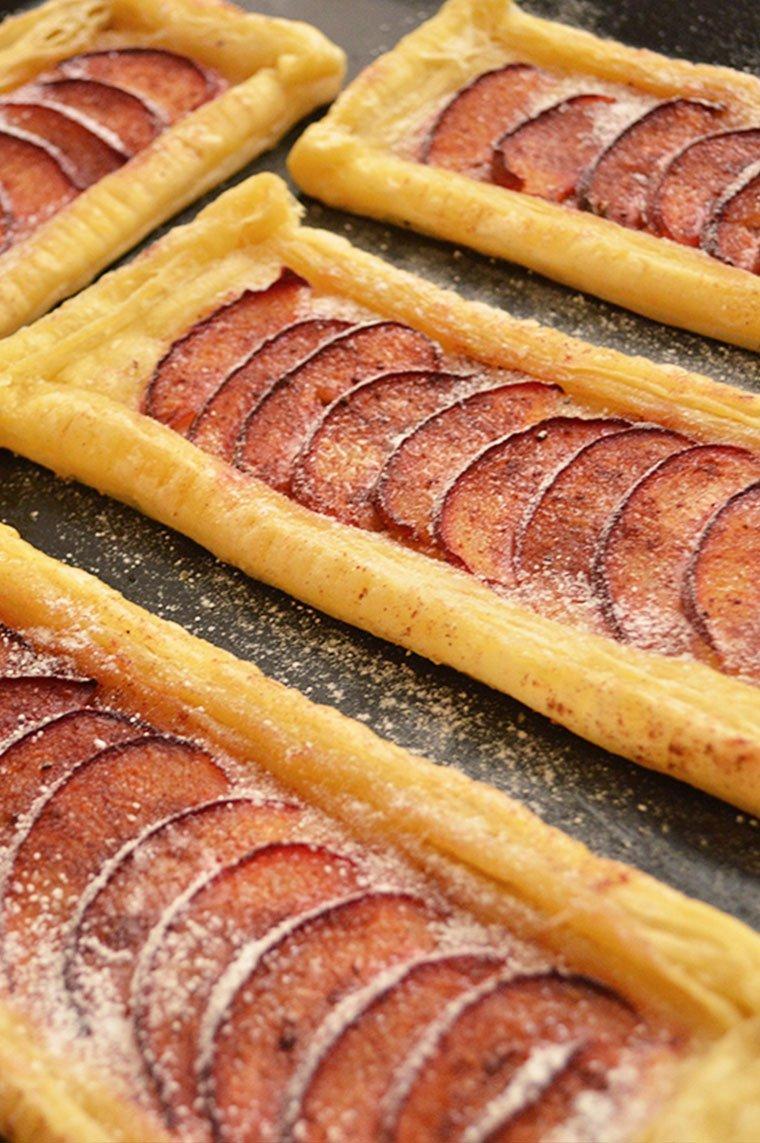 plum puff pastry