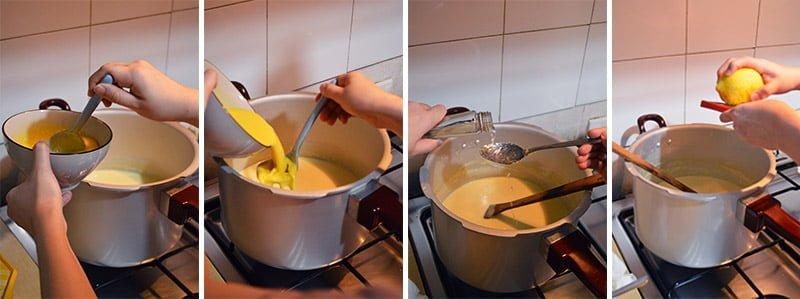 making cream cheese ice cream