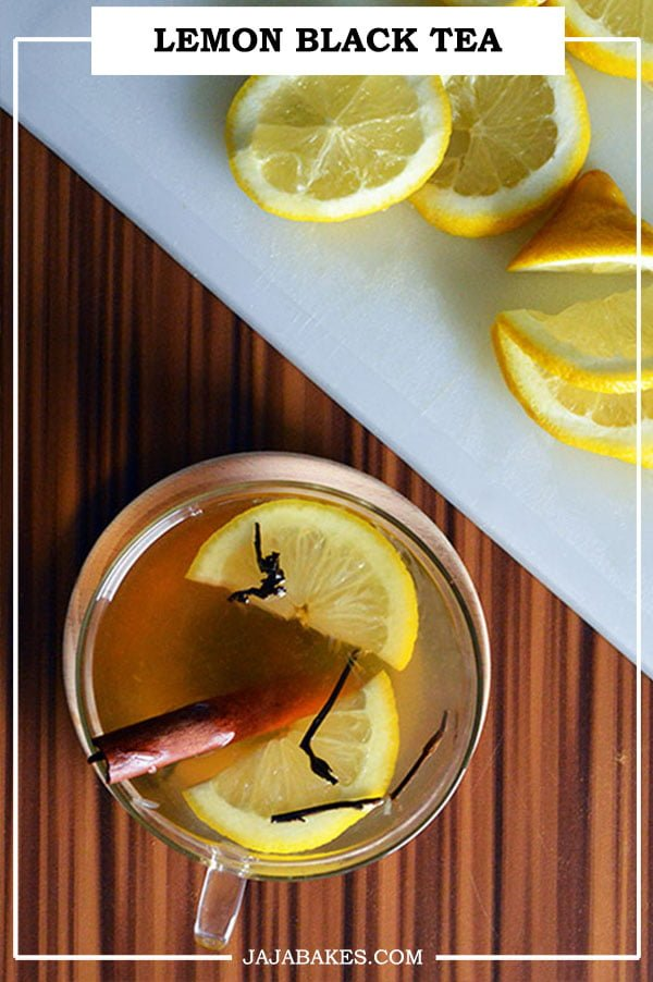 pinterest lemon black tea