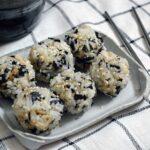 seaweed rice balls recipe