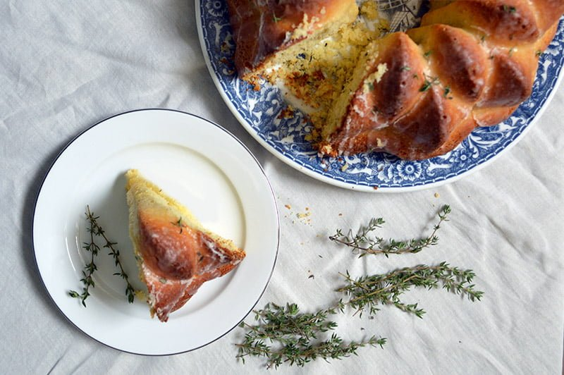 lemon and thyme bundt cake 2