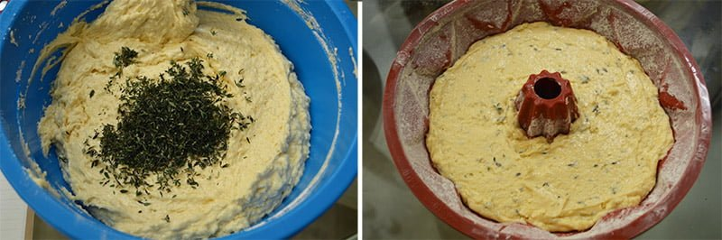 lemon and thyme bundt cake how to make 2