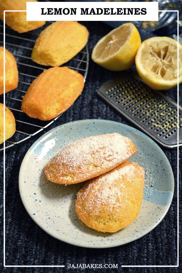 lemon madeleines pinterest