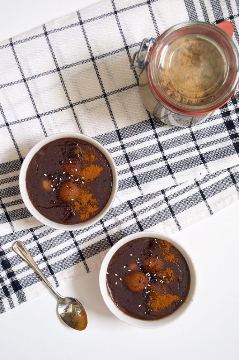 red bean porridge patjuk