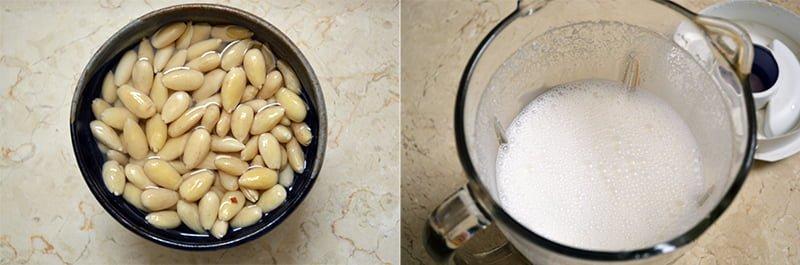 soaking almond