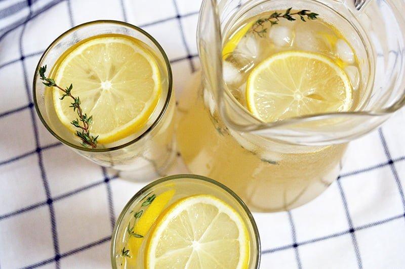 lemon thyme tea 4