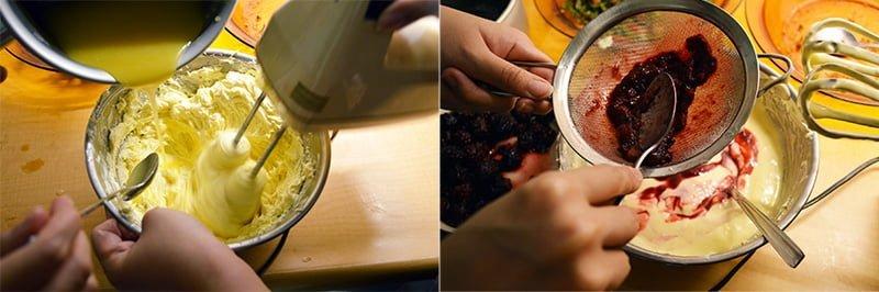 how to make blackberry cheesecake 1