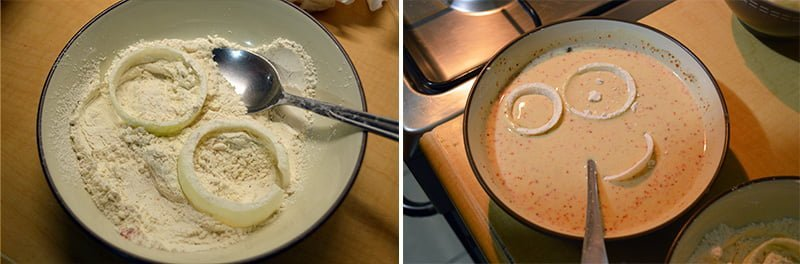 how to make onion ring 2