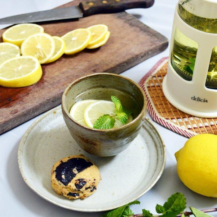 lemon mint tea
