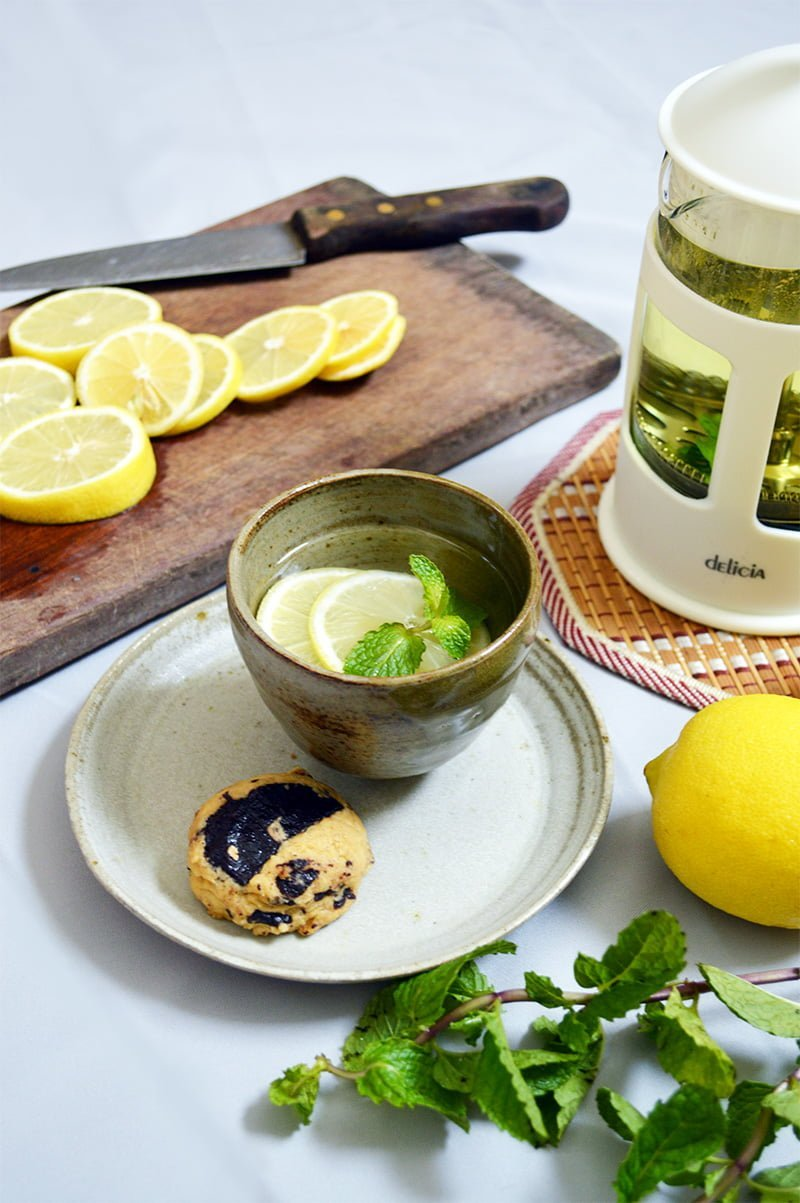 lemon mint tea 3