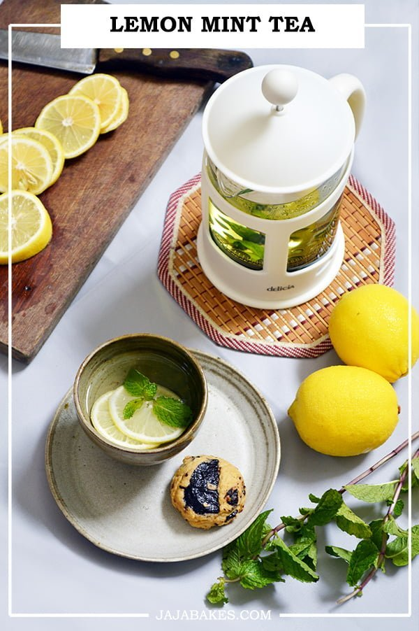 lemon mint tea pinterest