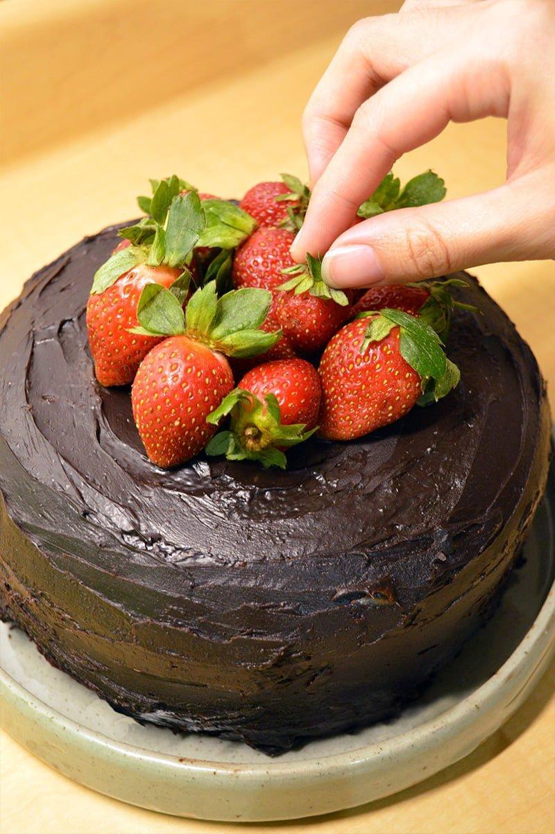 how to make steamed chocolate cake 4