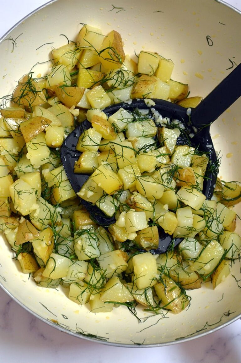 potato dill stir fry