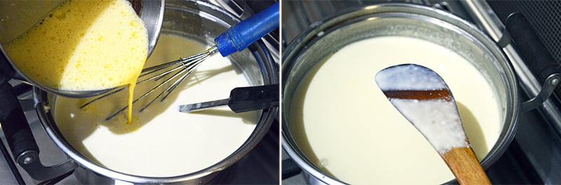 making ice cream process