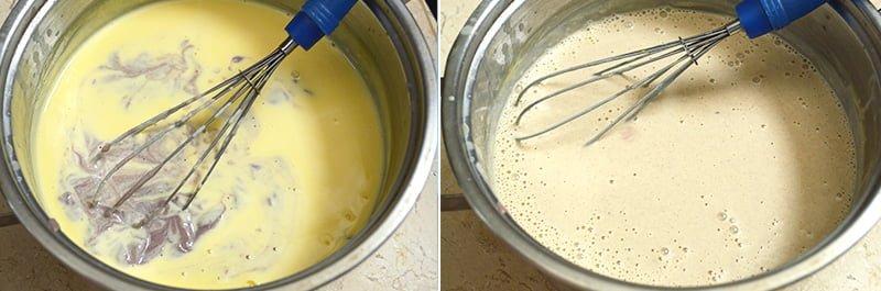 making red bean ice cream