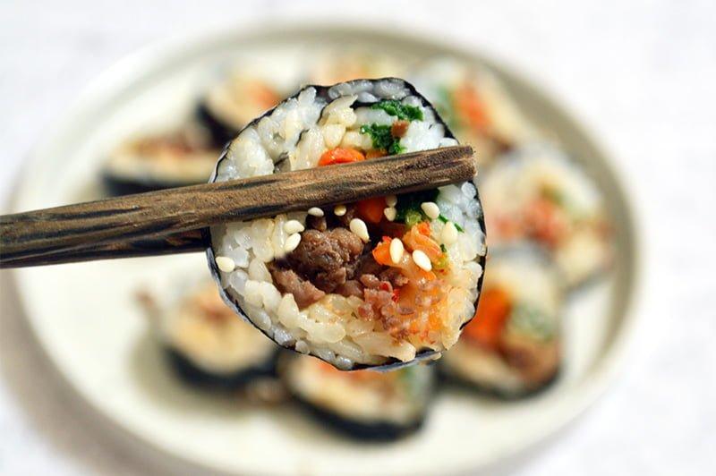 kimchi kimbap