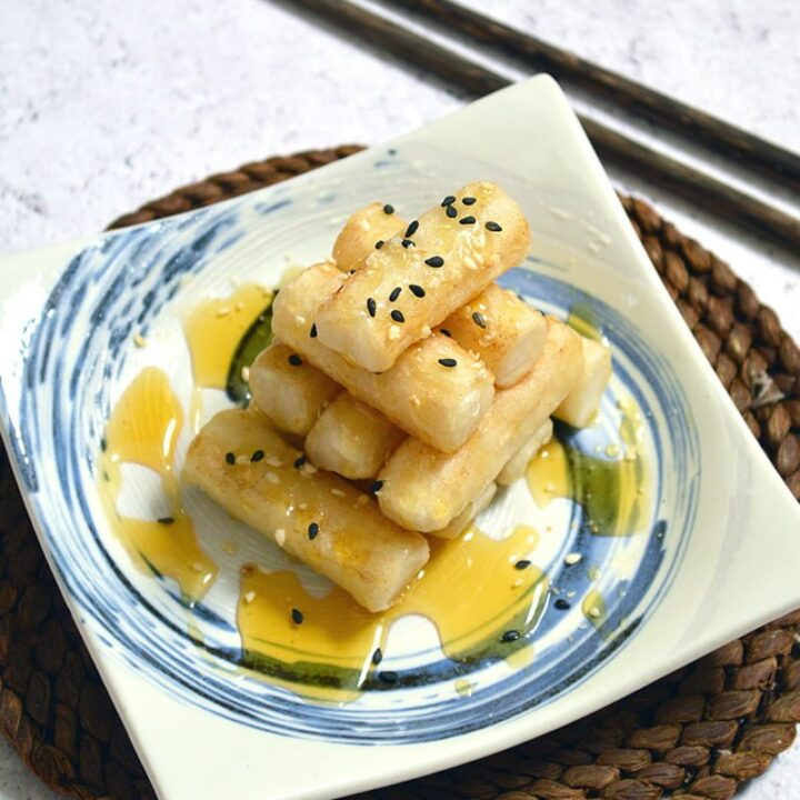 Korean Rice Cakes With Honey Jaja Bakes Jajabakes Com