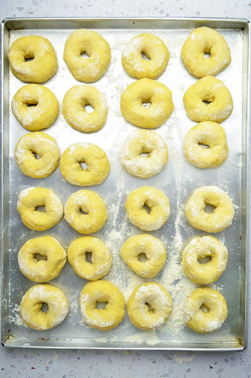 how to make potato doughnuts