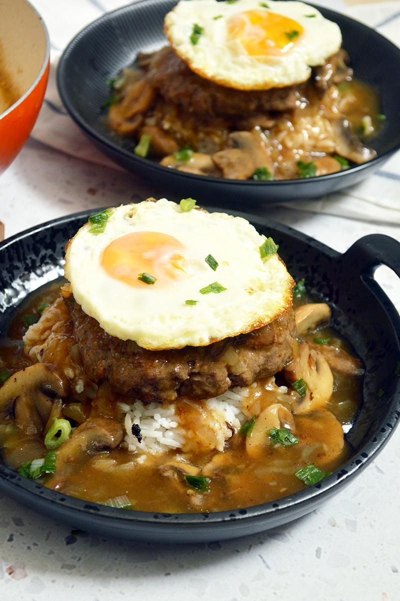 Loco Moco Hawaiian Comfort Food Jaja Bakes Jajabakes Com