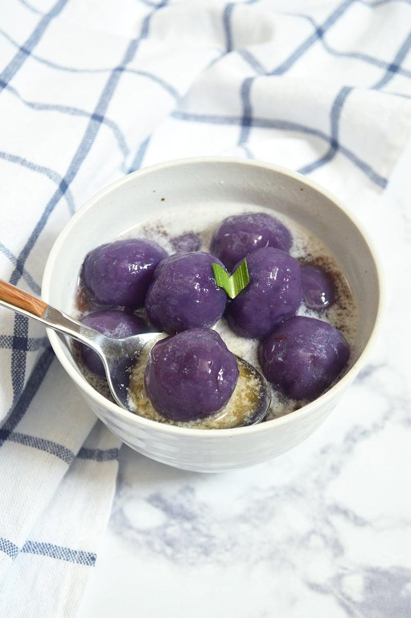 purple sweet potato biji salak