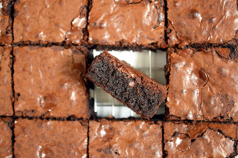 brown butter fudgy brownies