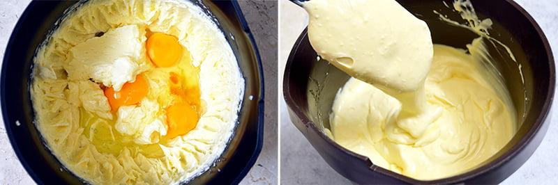 burnt cheesecake batter