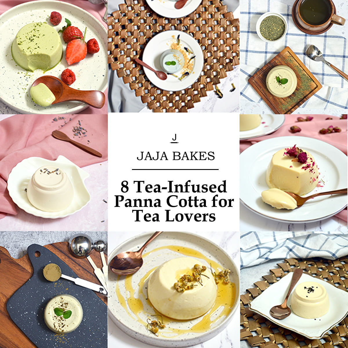 tea infused panna cotta recipe collection