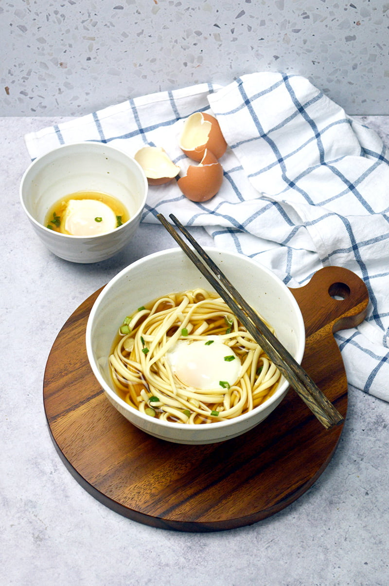 udon with onsen tamago