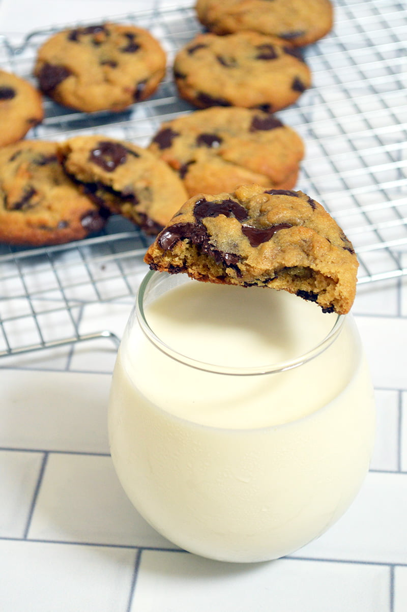 alton brown's the chewy chocolate chip cookies