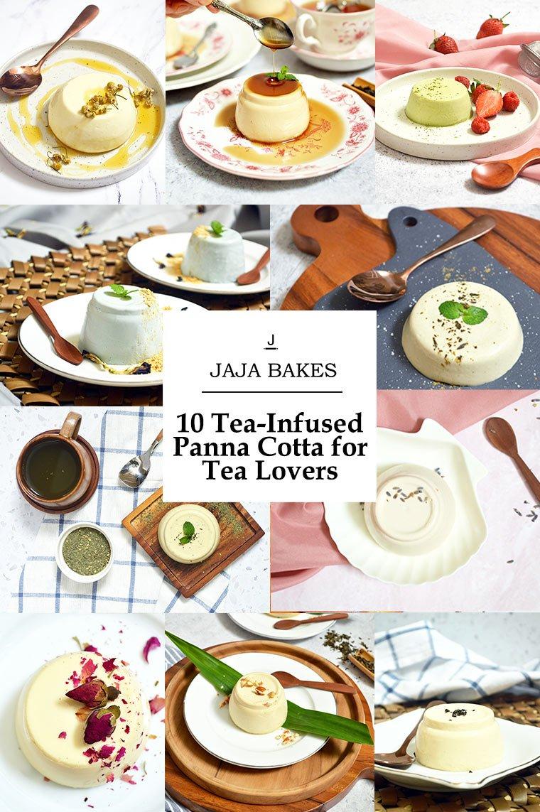 10 tea infused panna cotta flavors for tea lover