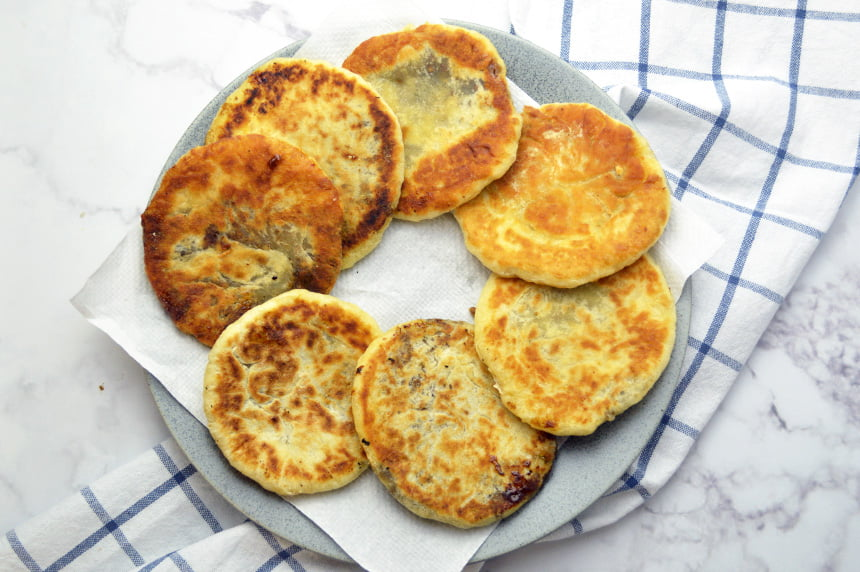 hotteok sweet korean pancake