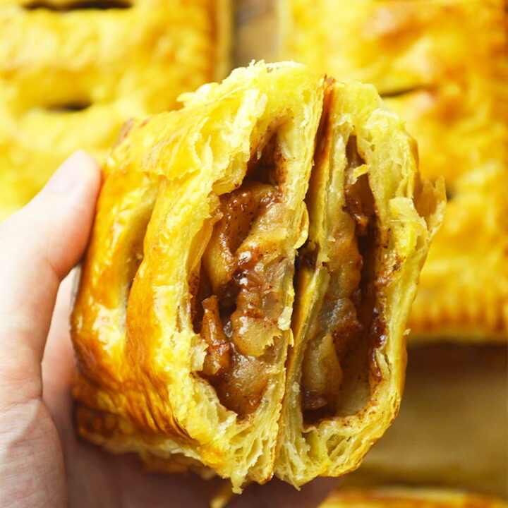 apple cinnamon puff pastry