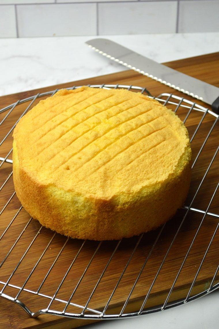 vanilla genoise cake