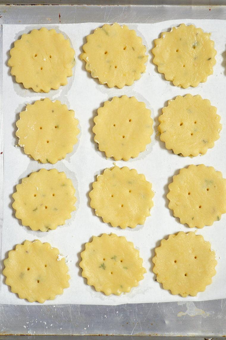 shortbread cookie dough