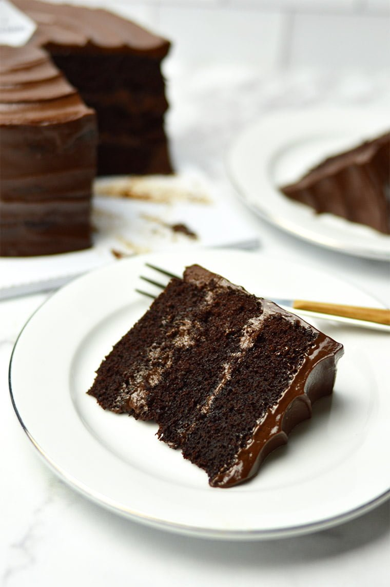 moist steamed chocolate cake