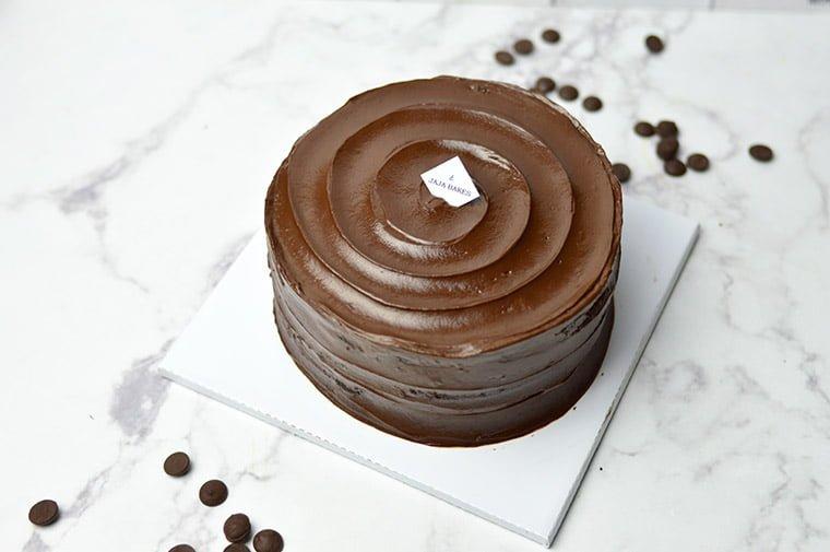 moist steamed chocolate cake
