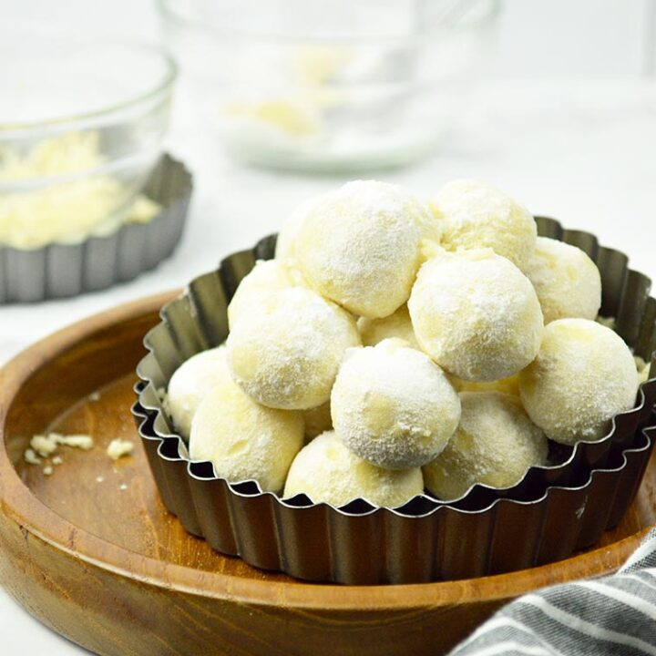 cheddar cheese snowball cookies