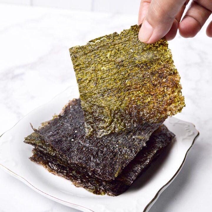 roasted seaweed sheets