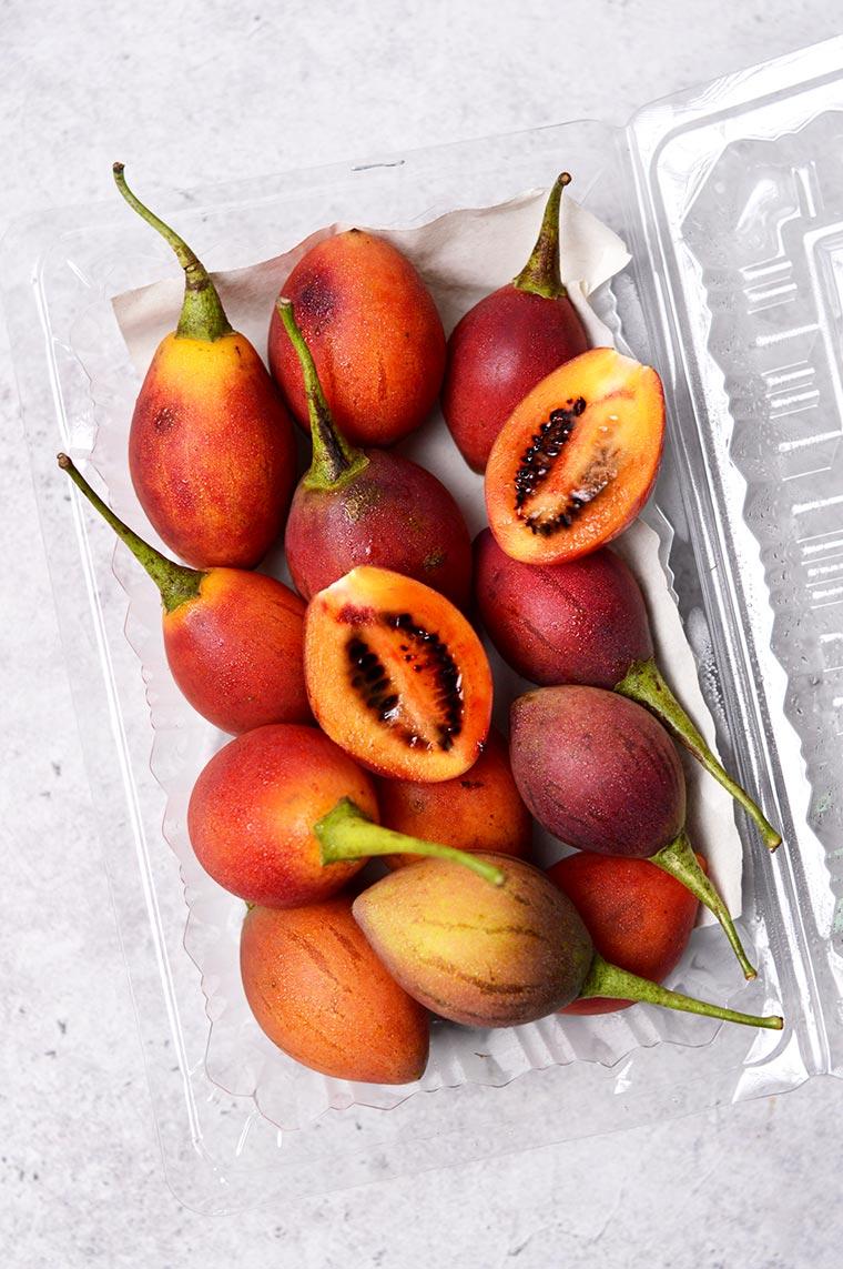 tamarillo or tree tomatoes or terong belanda